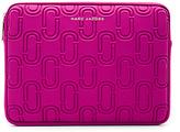 Marc Jacobs Double J Neoprene 13 Computer Case in Pink.