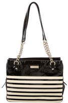 Kate Spade Patent Leather Cooper Square Zippered Darcy Bag
