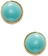 Semi-Precious Stone Stud Earrings