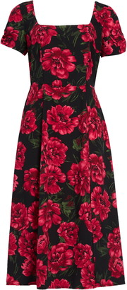 Leith Square Neck Maxi Dress