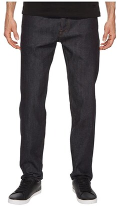 The Unbranded Brand Relaxed Tapered Fit in 11oz Indigo Stretch Selvedge (Indigo Stretch Selvedge) Men's Jeans