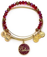 Alex and Ani Believe Color Infusion Expandable Wire Bangles, Set of 2