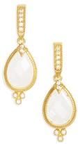 Freida Rothman Women's Audrey Teardrop Earrings