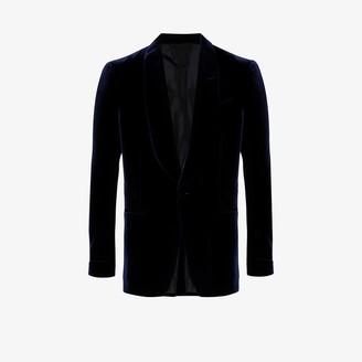 Tom Ford Tailored velvet blazer