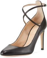 Giuseppe Zanotti Leather Ankle-Strap 90mm Pump