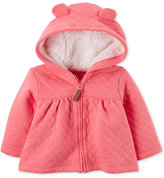 Carter's Hooded Fleece-Lined Quilted Jacket, Baby Girls (0-24 months)