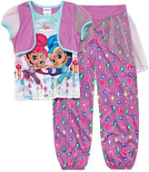 Nickelodeon Girls 2-pc. Short Sleeve Nightgown Set-Preschool