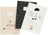 Emile et Ida Set of 3 A5 Girl Notebooks