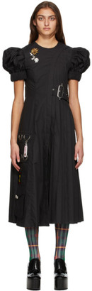 Chopova Lowena Black Star Utility Dress