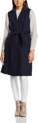 New Look Women's Kalani Belted Sleeveless Coat