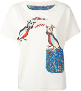 Tsumori Chisato Love Birds T-shirt - women - Cotton - 2
