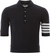 Thom Browne 4-bar Polo Shirt