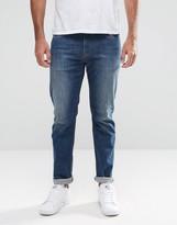 Armani Jeans J06 Slim Fit Jeans In Stretch Light Wash