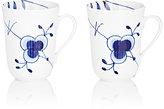 Royal Copenhagen Blue Fluted Mega Porcelain Mug Set