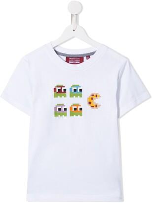 Mostly Heard Rarely Seen 8-Bit Pacman pizza T-shirt