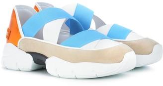 Emilio Pucci City Dance suede sneakers