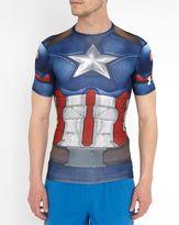Under Armour Captain America Full Suit Compression T-Shirt