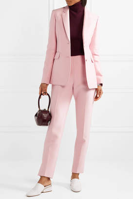 Gabriela Hearst Sophie Wool And Silk-blend Blazer - Baby pink