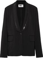 MM6 MAISON MARGIELA Stretch-crepe blazer