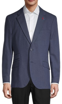 Tailorbyrd Pin Dot Standard-Fit Suit Jacket