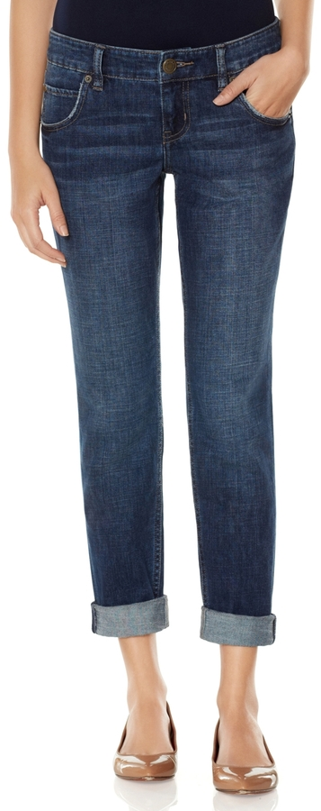 The Limited 678 Cuffed Slim Boyfriend Jeans