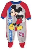 Disney Mickey Mouse Baby Boys' 1-Piece Footed Pajamas