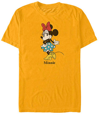 Fifth Sun Tee Shirts GOLD - Minnie Mouse Gold Skirt Tee - Adult