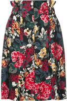 Sonia Rykiel floral print skirt - women - Viscose - 34