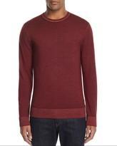 Michael Kors Washed Merino Wool Crewneck Sweater