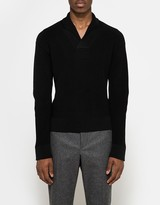 Lemaire Shawl-Collar Sweater