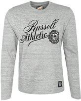 Russell Athletic Long Sleeved Top Grey Melange
