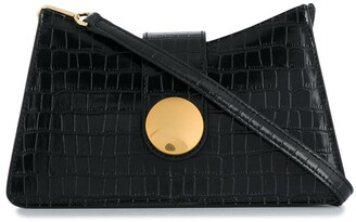 Elleme Crocodile-Effect Baguete Bag