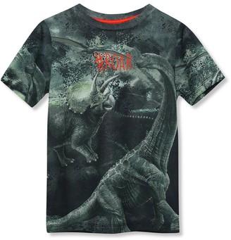 M&Co Slogan dinosaur t-shirt (9mths-5yrs)
