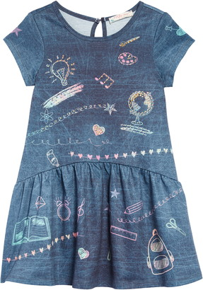 Truly Me Chalkboard Dress