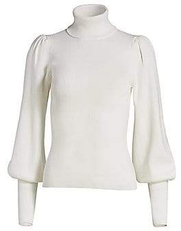 A.L.C. Women's Karla Lantern-Sleeve Sweater