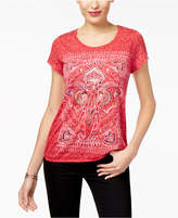 Style&Co. Style & Co Graphic Top, Created for Macy's
