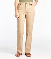 L.L. Bean L.L.Bean Women's True Shape Jeans, Classic Fit Straight-Leg Colors