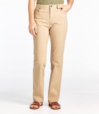 L.L. Bean Women's True Shape Jeans, Classic Fit Straight-Leg Colors