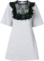 Giamba lace panel dress