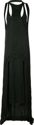 Ann Demeulemeester Draped Layered Dress