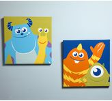 Disney Monsters at Play 2-Piece Canvas Wall Art