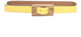 Marni Yellow Leather Belt