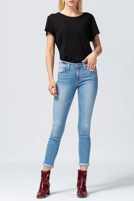 Flying Monkey Laguna Mid Rise Cropped Skinny Jeans