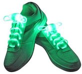 Vnfire 1 Pair LED Shoelaces Light Up Shoe Laces with 3 Modes Flash Lighting the Night for Party HDisco ip-hop Dancing Cycling Hiking Skating