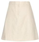 Carven Linen Miniskirt
