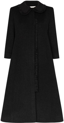 Molly Goddard A-line wool coat