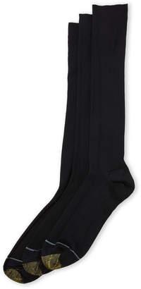 Gold Toe 3-Pack Premier Metropolitan Knee-High Socks