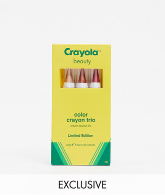 Crayola Colour Crayon Trio - Sunset Shimmer