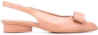 Salvatore Ferragamo Viva slingback ballerina shoes