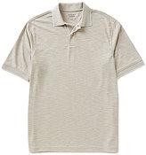 Roundtree & Yorke TravelSmart Short-Sleeve Jacquard Slub Polo